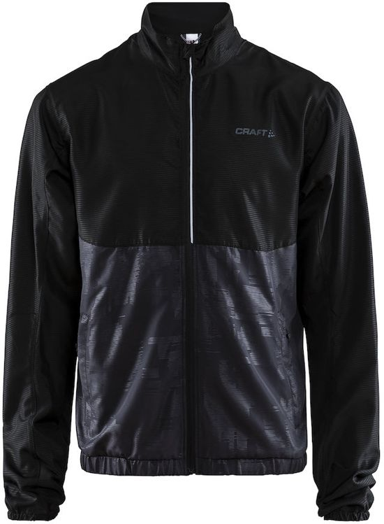 Craft Eaze Jkt M Sportjas Heren - Black/crest