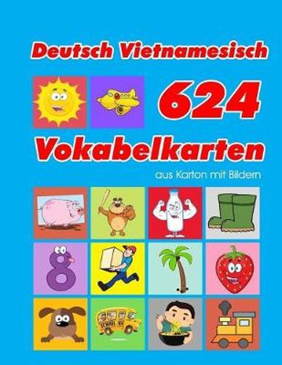 Deutsch Vietnamesisch 624 Vokabelkarten aus Karton mit Bildern: Wortschatz karten erweitern grundschule f�r a1 a2 b1 b2 c1 c2 und Kinder