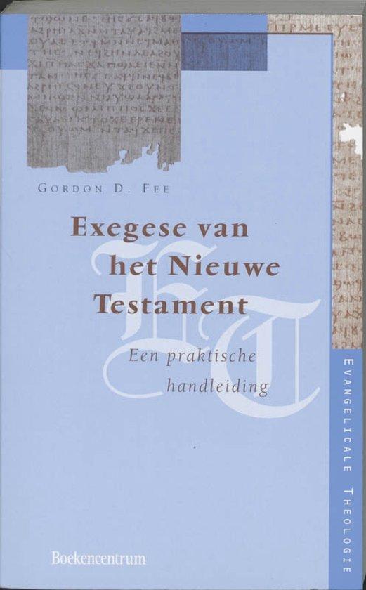 Evangelicale Theologie - Exegese van het Nieuwe Testament