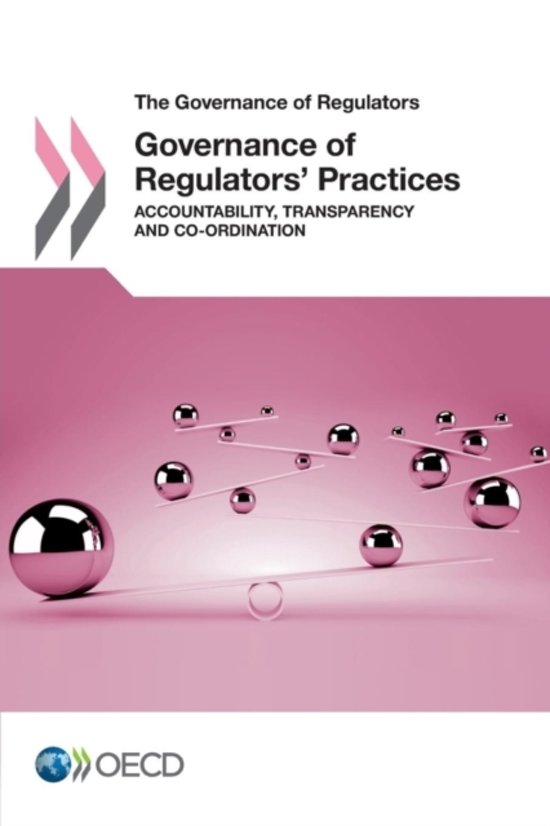 Governance of regulators' practices