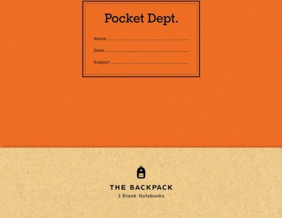 Pocket Dept. Backpack Notebooks