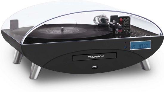 Thomson TT400CD Platenspeler Met 33 45 78 Toeren FM Radio CD MMC
