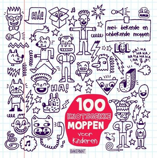 100 Knotsgekke moppen voor kinderen per 6 ex