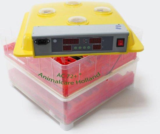 Broedmachine | 72 eieren (met hygrometer) - Model- AC 72+ ®