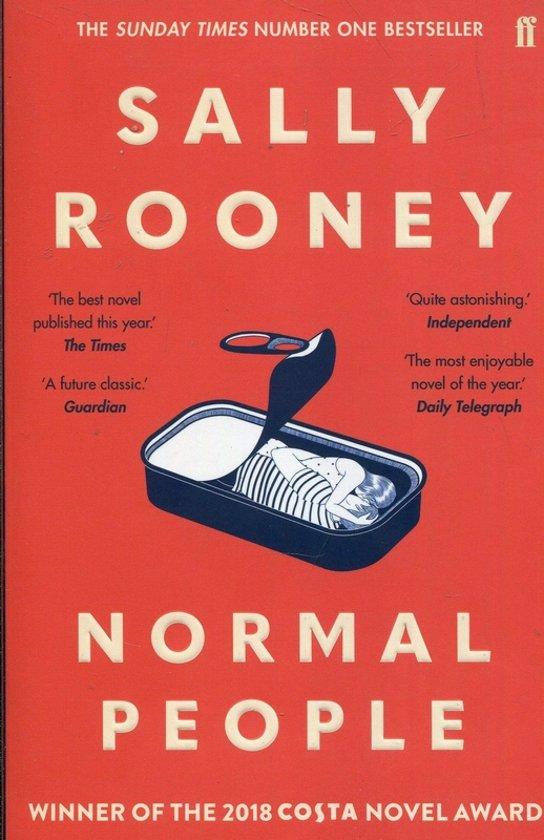 Boek cover Normal People van Sally Rooney (Paperback)
