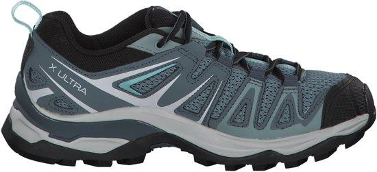 Salomon X Ultra 3 Prime Wandelschoenen - Maat 40 - Vrouwen - licht blauw/  grijs/ zwart