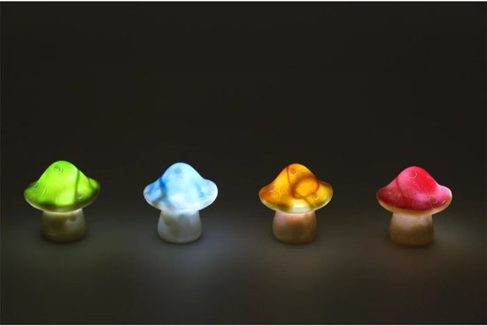 Solar Lampen Tuin : Bol luxform solar lamp kleurrijke paddestoel stuks
