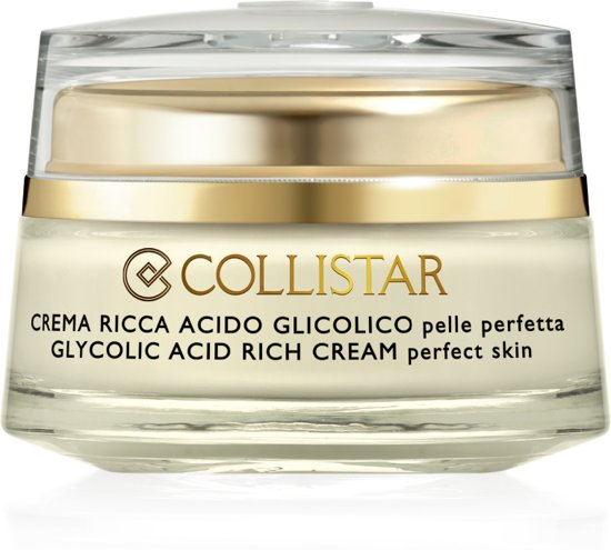 Collistar Pure Actives Glycolic Acid Rich Cream - 50 ml - Gezichtscreme