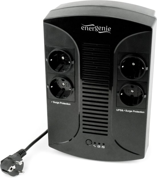 EnerGenie EG-UPS-002 - UPS met AVR, 850 VA