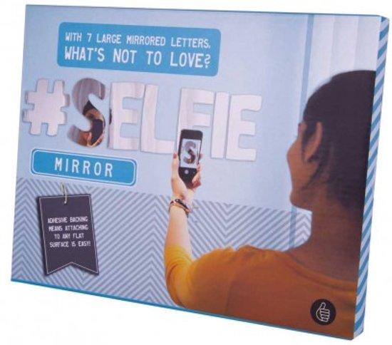 ThumbsUp! Selfie Spiegel - 7 Spiegel Letters