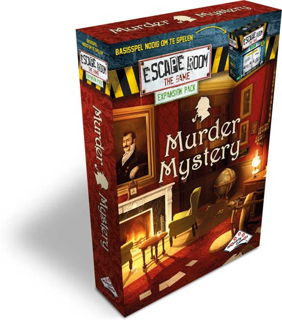 Uitbreidingsset Escape Room The Game Murder Mystery