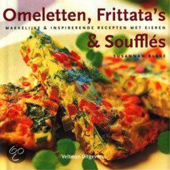 Boek cover Omeletten, FrittataS & Souffles van Susannah Blake (Hardcover)