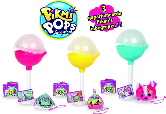 Pikmi Pops – Mini Pikmi Pops Surprise 3 Pack
