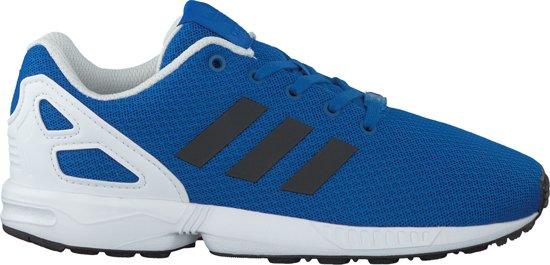   Adidas Meisjes Sneakers Zx Flux Kids Blauw Maat 32