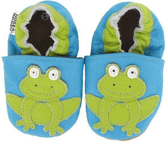 Hobea babyslofjes met zooltje Frosch t�rkis