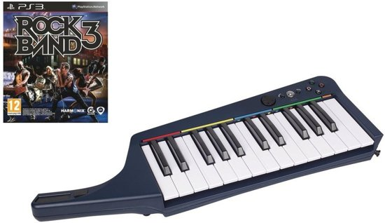 Rock Band 3 Bundel (Wireless Keyboard + Game)
