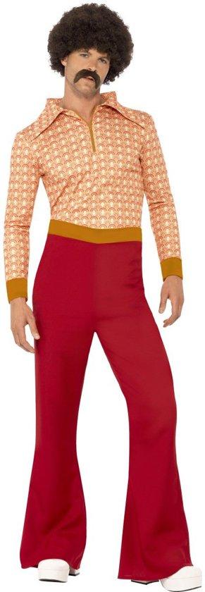 """""""Chique disco jaren 70 verkleed pak voor mannen  - Verkleedkleding - XL"""""""