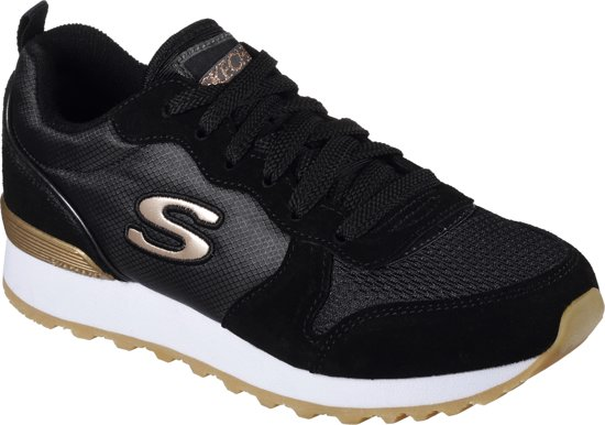 60389aec247 bol.com | Skechers Retros-Og 85-Goldn Gurl Sneakers Dames - Black ...