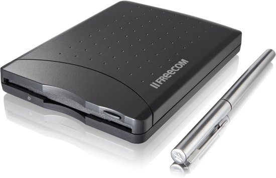 Freecom Floppy Disk Drive - Zwart / USB