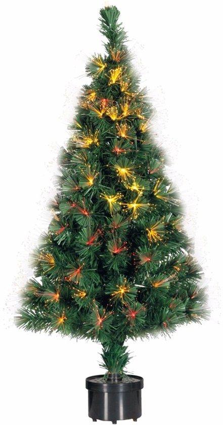 bol.com | Kunst kerstboom met fiber licht 90 cm
