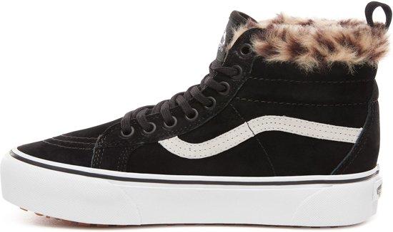 hi Sk8 Black Ua Sneakers Unisex Vans Maat leopard Fur Platform 40 Mte x6Cq50Fw