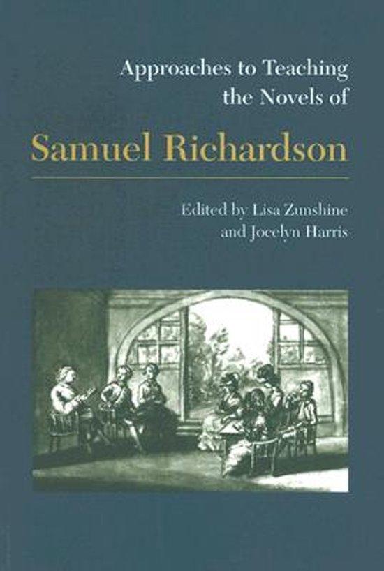 new essays on samuel richardson