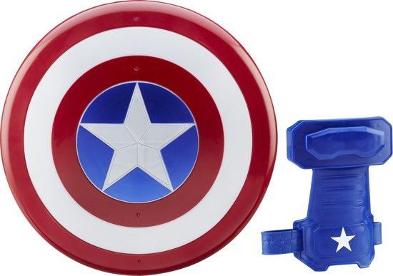 marvel captain america magnetisch schild en handschoen hasbro. Black Bedroom Furniture Sets. Home Design Ideas
