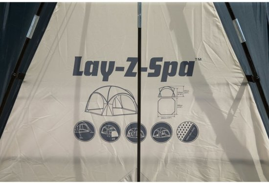 Lay-z-spa Zwembadoverkapping Dome Beige 390 Cm