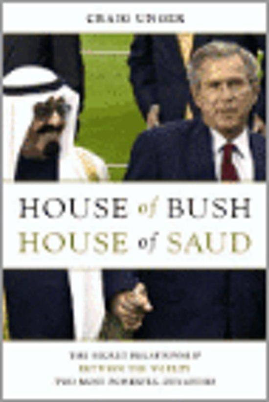 Boek cover House of Bush, House of Saud van Craig Unger (Hardcover)