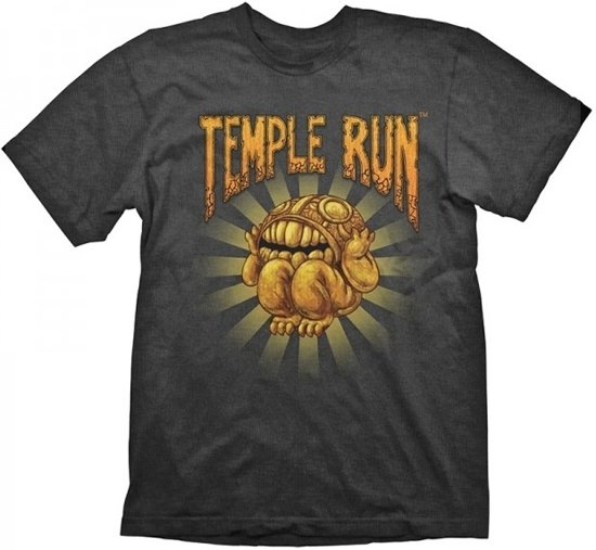 Temple Run T-Shirt - Temple Treasure, (Maat XL)