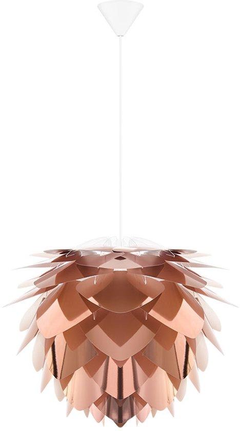 bol vita silvia mini hanglamp à 34 cm koper incl wit