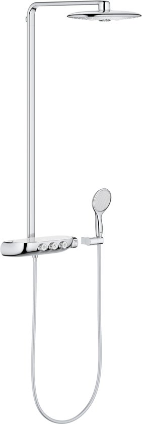 GROHE Rainshower SmartControl Duo Douchesysteem - Luxe regendouche - Met thermostaatkraan - Chroom