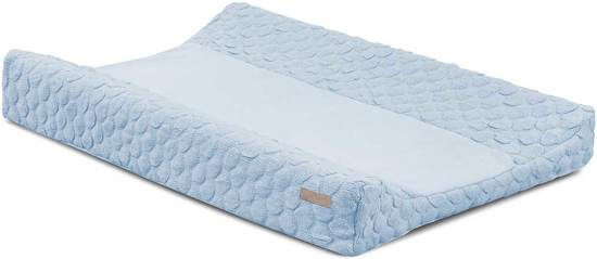 Jollein Waskussenhoes Fancy Knit Baby Blue 50x70cm