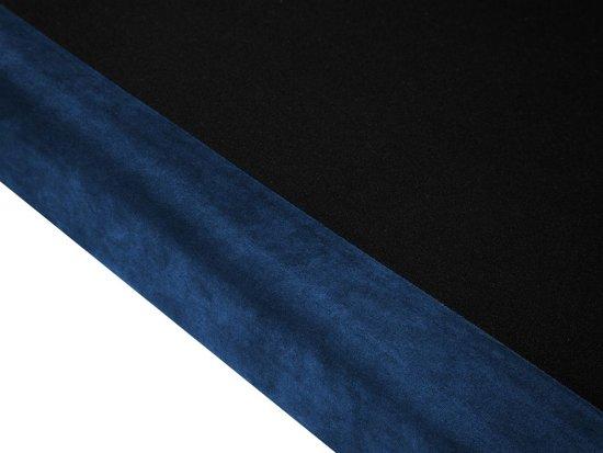 Beliani LOKKA 2-Zits bank Blauw Stof