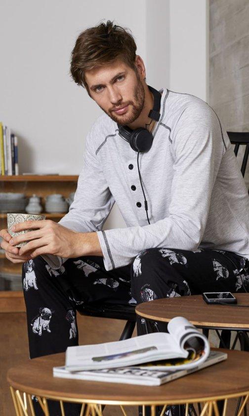 12e179f71cf bol.com | Ringella heren pyjama mopshond