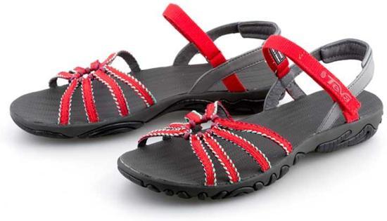 1a69c46ab Teva Kayenta Dream Wave Sandalen - Dames - Rood Grijs teva dames outdoor  sandalen kayenta dream