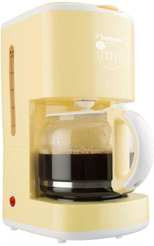 Bestron Koffiezetapparaat 1080 W vanille ACM300EVV