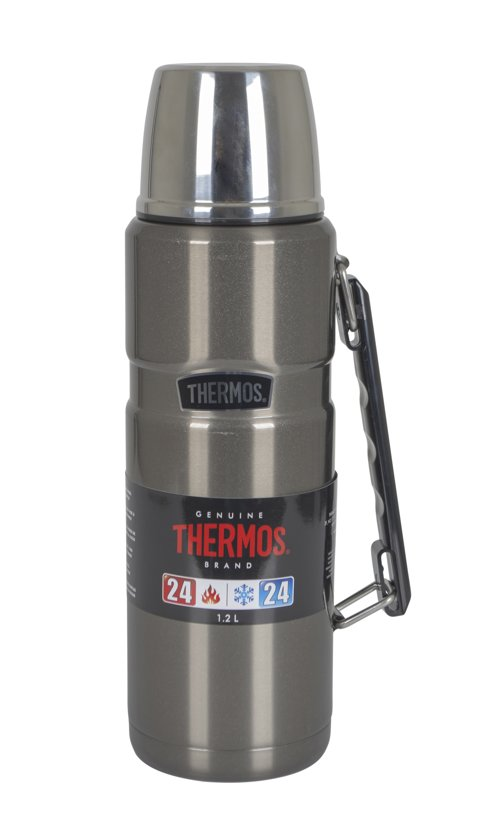 aa88b1378d7 Thermos King Isoleerfles – 1200 ml – Space Grijs