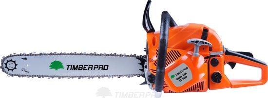 TIMBERPRO - Kettingzaag - Motorzaag - 61,5 cc