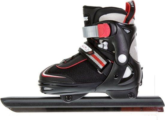 Viking Schaatsen - Maat 28-31 - Unisex - zwart/grijs/rood/wit Maat 28-31