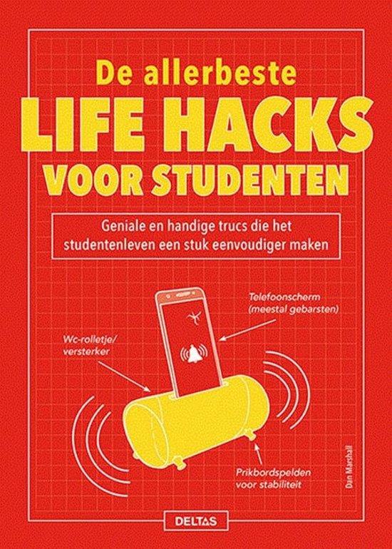 Boek cover De allerbeste life hacks voor studenten van Dan Marshall (Paperback)