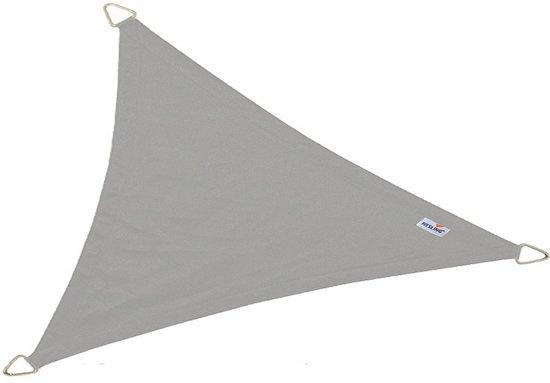 Schaduwdoek NESLING Dreamsail (Waterproof), 4 x 4 x 4 m. Driehoek, Kleur: Grey