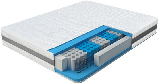 Matras Optimum - pocketvering matras - 140x200 - 24 cm dik