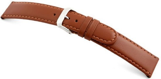 Rios1931 Horlogeband -  Arizona Cognac - Leer - 12 mm