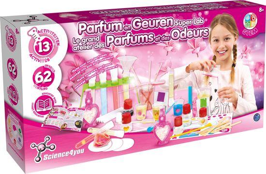 Afbeelding van Science 4 You - Parfum Fabriek Superset - Experimenteerset speelgoed