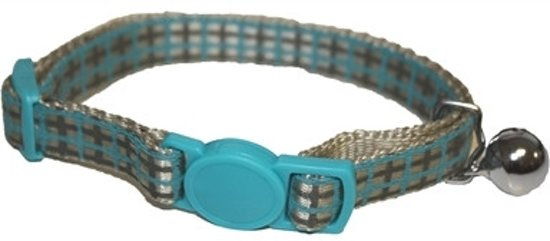 Little Rascals Kitten Halsband Blauw - 22.5-31 CM