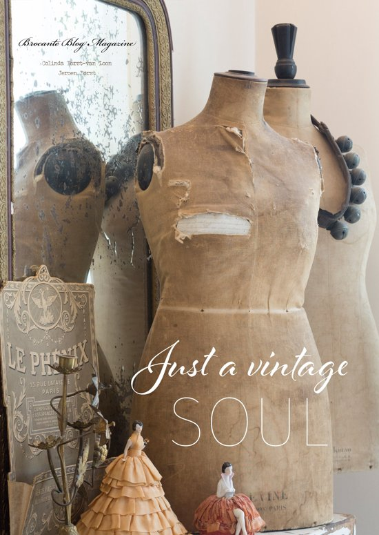 Just a vintage soul - Brocante interieur boek