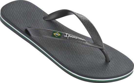 Ipanema - Pantoufles Classiques Brasil - Hommes - Sandales Et Pantoufles - Gris - 43-44 id6mI1