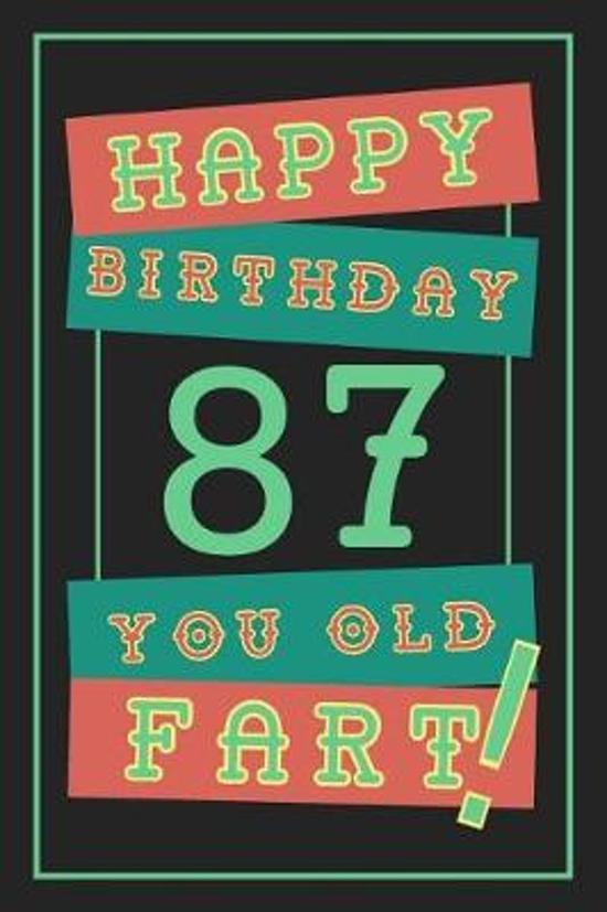87th Birthday Gift
