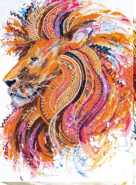 Kralenborduurpakket Fire-Maned Lion